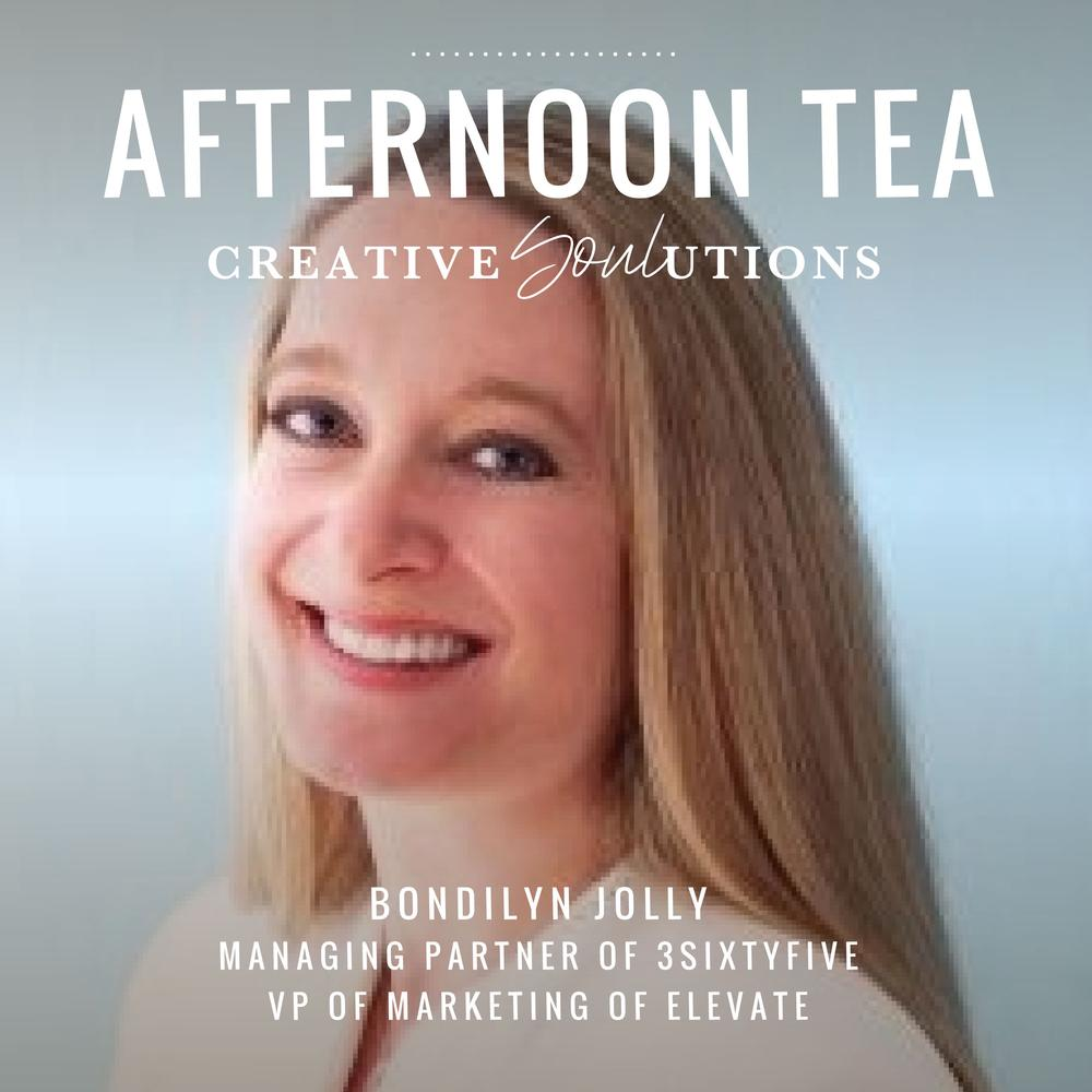 [Podcast] Afternoon Tea With Bondilyn Jolly